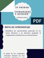 1ro Ciudadanos y Opinión