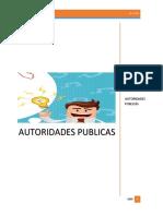 Autoridades Publicas