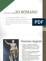 Slides Império Romano