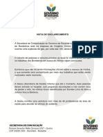 Governo de Roraima - Incêndio Empresa Oxigênio