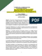 Reglamento Interior de La Comisión Nacional de Procesos Internos-2017 PRI