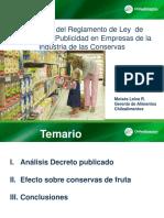 Ley Etiquetado Chile