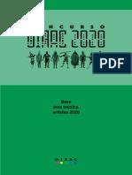 008 Bases Concurso Dirac 2020 Artistas a Rea Mu Sica