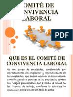 Capacitacion Copasst y Comité de Convivencia Laboral