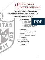 Seminario 3 Neurotransmisores y Neuropeptidos