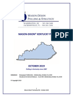 Bevin Beshear Oct 2019 Poll