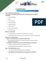 Team Effectiveness Diagnostic-LAL1
