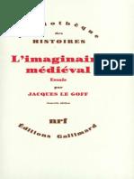 L'Imaginaire Medieval - Le Goff Jacques