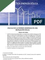 Práctica Energía Eólica