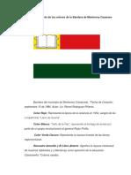 Significado de Los Colores de La Bandera de Monterrey Casanare