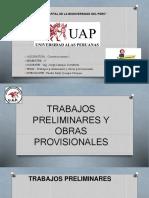 Trabajos Preliminares y Obras Provisionales 1