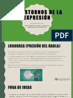 Trastornos de La Expresión