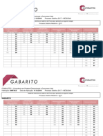 Gabarito Unifacs