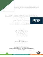 Diseño Lógico Secretaria de Planeación