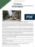 Strada Skadarska Din Belgrad, Serbia