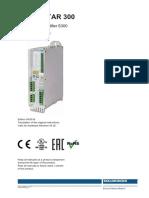 servostar 300 fault codes