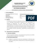 Silabo Upla Doctorado - 2018
