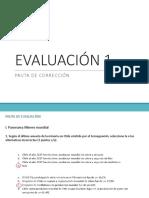 Pauta Correccion Evaluación 1
