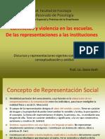 Conflictos y violencia en las escuelas
