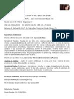 Curriculu Simone de Oliveira Correa