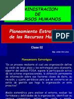 CLASE 2 Planeamiento Estrategico de RRHH