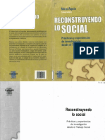 Reconstruyendo lo social