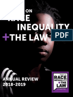 NYU Law - Center on Race Inequality + The Law Annual Report 2018-2019