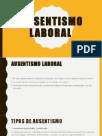 Absentismo Laboral Ok