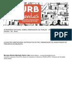 URB FAVELAS Urbanização de assentamentos precários em Belém/PA