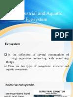 Terrestrial and Aquatic Ecosystem