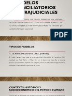 MODELOS CONCILIATORIOS EXTRAJUDIACELES