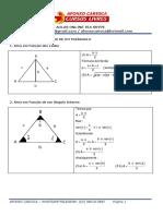 Geometria Plana Exercícios Resolvidos