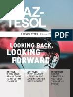 revista braz-tesol looking back looking forward