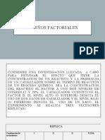 Diseños Factoriales Ejercicios Resuletos