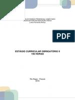 Estagio curricular obrigatorio II 150HORAS MODELO