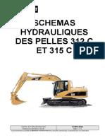 398-1 S Schémas Hyd Pelles 312 C Et 315 C