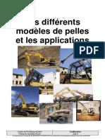 608 S - Les Différents Modèles de Pelles Et Les Applications