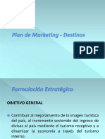 Modelo Plan de Mark - Destinos