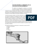 El Impacto Socioeconomico y Ambiental de La Sequía de 2001 en Centroamérica