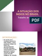 A Situação Dos Índios No Brasil