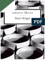 Tonio Kröger - Thomas Mann