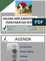 Kajian Implementasi IRTP