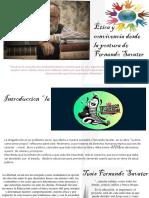 Actividad 6 - Presentación Sobre Ética y Convivencia Desde La Postura de Fernando Savater