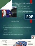 Presentación de Mecánica Automotriz Básica