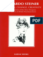 Freud, Anna_ Steiner, Riccardo_ Segal, Hanna_ Klein, Melanie - Tradition, Change, Creativity _ Repercussions of the New Diaspora on Aspects of British Psychoanalysis-Karnac Books (2000)