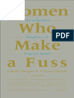 Isabelle Stengers_ Vinciane Despret - Women Who Make a Fuss_ The Unfaithful Daughters of Virginia Woolf (2014, Univocal).pdf