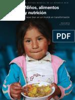 Estado Mundial de La Infancia 2019 Resumen Ejecutivo