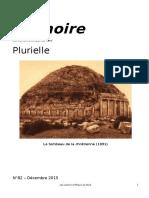 Memoire, Revue -No 82- Decembre 2015