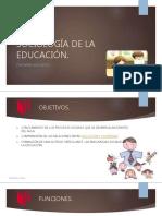 Sociologa de La Educacin Ppt