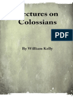 Lectures on Colossians - W. Kelly - 22236